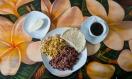 Gallopinto, cuajada, huevo y café
